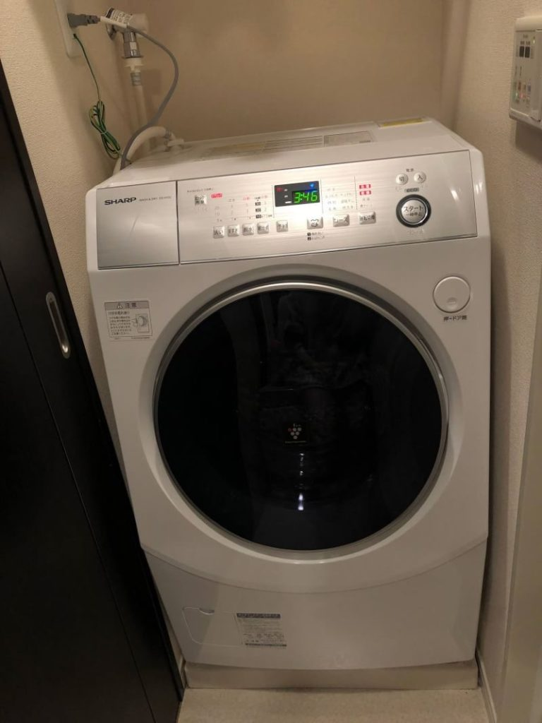 ドラム 式 洗濯 機 設置
